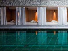 Bordo per piscina in gres porcellanatoPOOL GRES - ACQUARIO DUE CERAMICHE