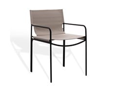 Sedia in acciaio inox con braccioliPOOL OUTDOOR | Sedia - KFF GMBH & CO. KG