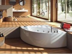 Vasca da bagno angolare idromassaggio in acrilico POP | Vasca da bagno angolare - Home & Spa Rituals