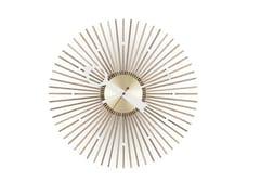 Orologio in legno da paretePOPSICLE CLOCK - VITRA