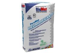 Intonaco deumidificantePOROMAP - BIGMAT ITALIA