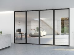 Portapivot, PORTAPIVOT 5730 - MULTIPLE DOORS Porta a bilico in alluminio e vetro