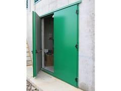 Porta d'ingresso acustica per esternoPORTE ACUSTICHE - ISOLGOMMA