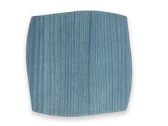 Sottobicchiere in legnoPORTOFINO LIGHT BLUE ASH | Sottobicchiere - LEONARDO TRADE