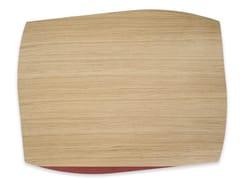 Tovaglietta rettangolare in legnoPORTOFINO OAK RED BRICK TULIPIÈ | Tovaglietta rettangolare - LEONARDO TRADE