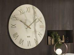Orologio in vetro serigrafato da paretePORTOFINO - RIFLESSI