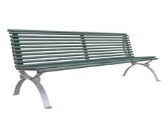 Panchina in ferro con schienalePOSITANO | Panchina - LAZZARI SRL