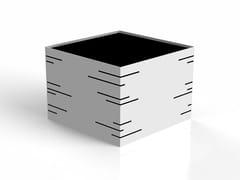 Fioriera modulare in acciaio con ruotePOTTER | Fioriera modulare - MODULARTE