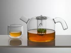 Set teiera con coppette degustazionePOTTY - INDUSTRIA VETRARIA VALDARNESE