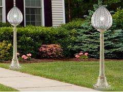 Lampione da giardino in vetro in stile classicoPOVEGLIA EP 423 - SIRU