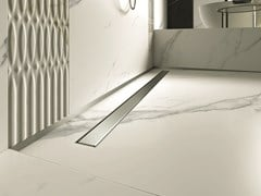 Canalina per doccia in acciaio inoxPP DRAIN AQUA CLASSIC COVER - PROFILPAS
