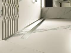 Canalina per doccia in acciaio inoxPP DRAIN AQUA DESIGN COVER - PROFILPAS