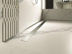 Canalina per doccia in acciaio inoxPP DRAIN AQUA FLAT COVER - PROFILPAS