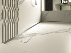 Canalina per doccia in acciaio inoxPP DRAIN AQUA INVISIBLE COVER - PROFILPAS