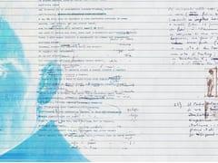 Carta da parati con scrittePPP GHOSTWRITER - TECNOGRAFICA