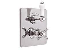 Rubinetto per doccia a 2 fori termostatico PRAGA - PRAGA CRYSTAL - F8213-PR - Praga - Praga Crystal