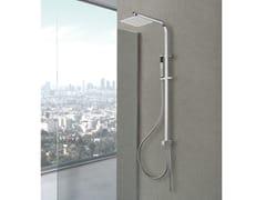 Colonna doccia a parete con doccettaPRAGA - WEISS-STERN