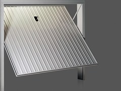 Portone da garage basculante in acciaioPRATIC - DE NARDI