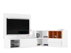 Mobile TV angolare PREFACE - COMPOSIZIONE J - Preface