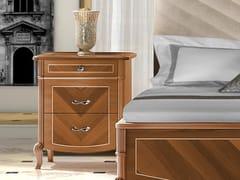 Comodino in legno con cassettiPRESTIGE 2 | Comodino - LINEA & CASA +39