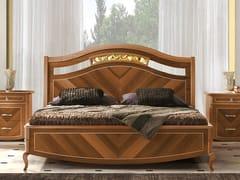 Letto king size in legnoPRESTIGE 2 | Letto matrimoniale - LINEA & CASA +39