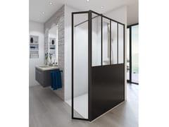 Glassolutions, PRESTIGE ATELIER Box doccia rettangolare in vetro