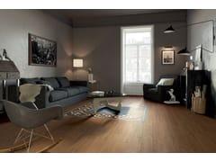 Pavimento/rivestimento in gres porcellanato effetto legnoPRESTIGE BROWN - CERAMICHE MARCA CORONA