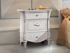 Comodino in legno con cassettiPRESTIGE | Comodino - LINEA & CASA +39