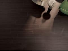 Pavimento/rivestimento in gres porcellanato effetto legnoPRESTIGE WENGE' - CERAMICHE MARCA CORONA