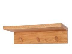 Appendiabiti da parete in legno masselloPRIM HANG ON - DESIGNIMDORF