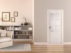 Porta laccata in legno massello e vetro PRIMA - Prima
