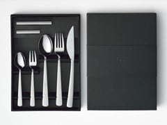 Set di posate in acciaio inox MA | Set di posate - TAKEDA CO.