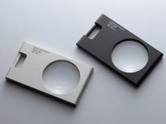 Lente di ingrandimento rettangolare in alluminioPRIMARIO | Lente d'ingrandimento - TAKEDA CO.