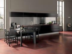 Cucina componibile laccata lineare PRIMAVERA DARK -