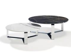 Tavolino da caffè rotondo in pietra naturale PRIMUS | Tavolino rotondo -