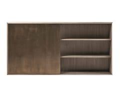 Credenza sospesa in legno con ante scorrevoliPRISM | Credenza - SHAKE