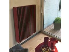 Termoarredo a pannello verticale in alluminio a paretePRISMA V - K8 RADIATORI