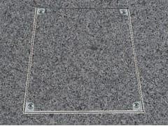 Chiusino a pavimento in alluminioPRO+ALU - FF SYSTEMS