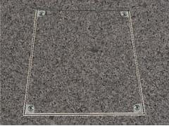 Chiusino a pavimento in alluminioPRO+BS ALU - FF SYSTEMS