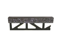 BUTECH, PRO-PART LI CRYSTAL ROCK SW Bordo decorativo in metallo con cristalli Swarovski® per rivestimenti