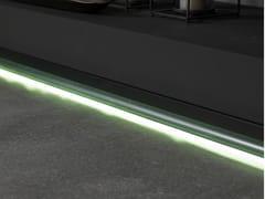 Porcelanosa, PRO-SKIRTING LED Battiscopa in alluminio anodizzato con LED
