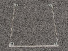 Chiusino a pavimento in alluminioPRO+THERMO-ALUMINIUM - FF SYSTEMS