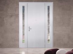 Porta d'ingresso blindata laccata in MDF con pannelli in vetro SUPERIOR - 16.5079 M17 - Professional
