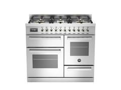 Cucina a libera installazione professionalePROFESSIONAL - PRO100 6 MFE T - BERTAZZONI