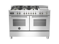 Cucina a libera installazione professionalePROFESSIONAL - PRO120 6G MFE D - BERTAZZONI