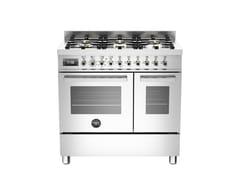 Cucina a libera installazione professionale in acciaio inoxPROFESSIONAL - PRO90 6 MFE D - BERTAZZONI