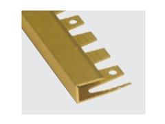 Profilo in alluminio estruso curvabilePROFILO DI BORDO CURVABILE IN ALLUMINIO - SKEMA