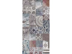 Lastra in gres porcellanatoPROGETTO PATCHWORK - WIDE & STYLE BY ABK
