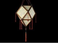 Lampada a sospensione in seta PROIBITA - SILK LAMPS