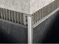 Profilo ad angolo retto per rivestimenti e pavimentiPROJOLLY SQUARE ACCIAIO - PROGRESS PROFILES